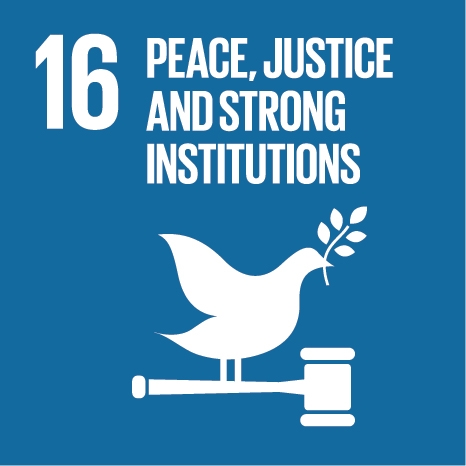 Peace justice and strong institutions